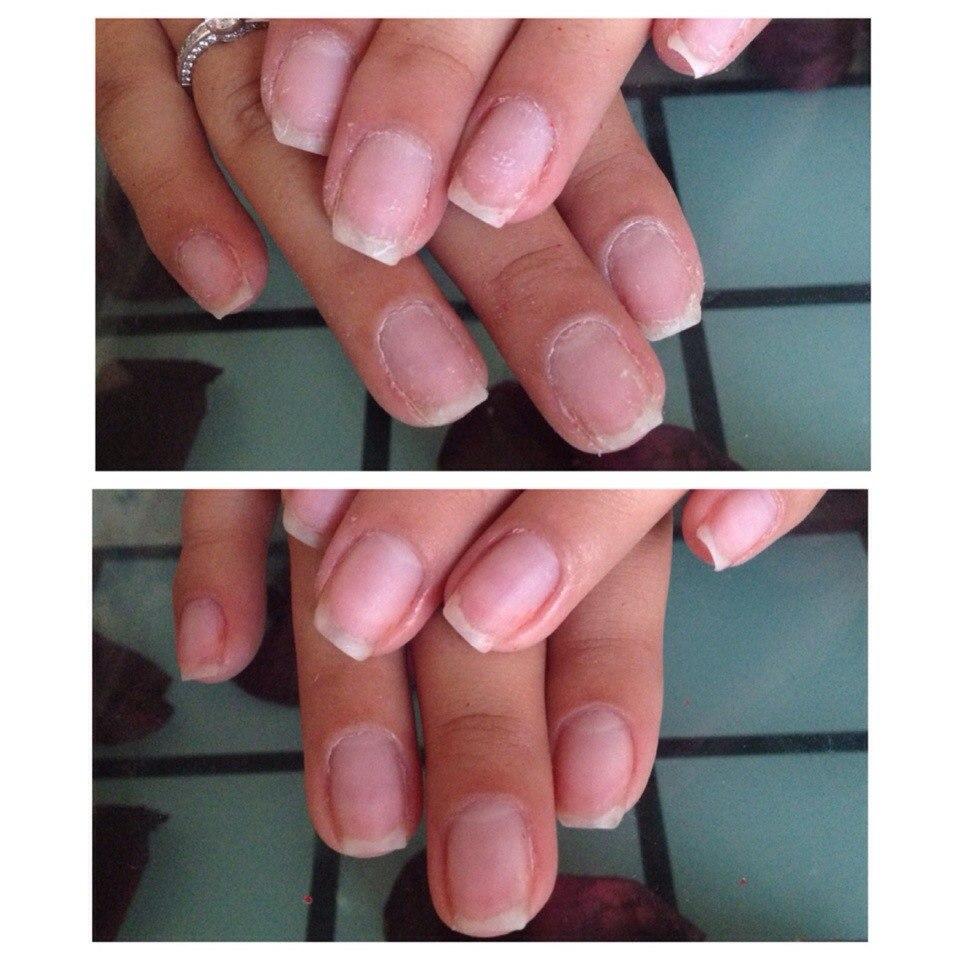 Срок действия укрепления ногтей