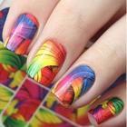 Разноцветный слайдер-дизайн