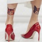 Флэш-татуировки для смены образа