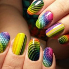 Цветная термопленка для ногтей