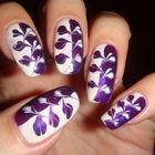 Дизайн с красками для ногтей