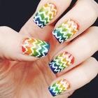 Маникюр с узорами. Краски для ногтей