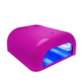Planet Nails, Лампа UV Tunnel Econom, 36W, розовая (электронная)