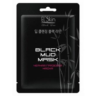 El'Skin, Маска черная грязевая Black Mud Mask,10 г