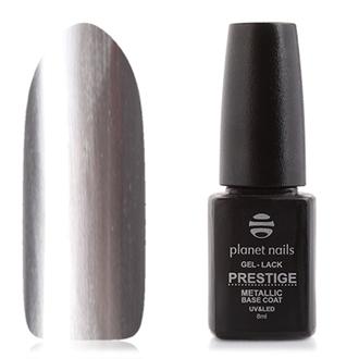 Planet Nails, База Prestige-metallic, 8 мл
