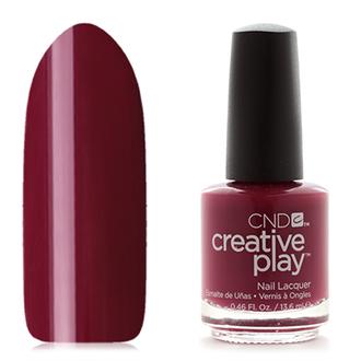 CND Creative Play, цвет Currantly Single, 13,6 мл