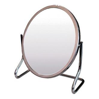 Hairway Professional, Зеркало настольное в металлической оправе, овальное (13/16 см)