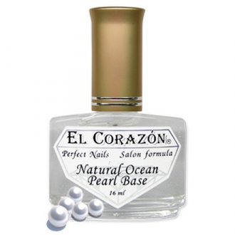 El Corazon Perfect Nails, Natural Ocean Pearl Base №401, 16 мл