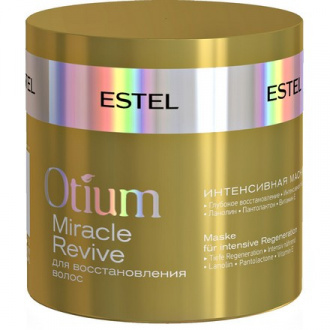 Estel, Интенсивная маска для восстановления волос Otium Miracle Revive, 300 мл