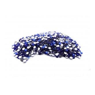TNL, Стразы 2 мм синие, 50 шт.