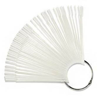 TNL, Палитра «веер» прозрачная, 50 цветов