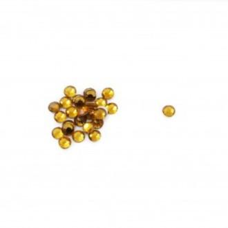TNL, Стразы 3 мм золото, 50 шт.