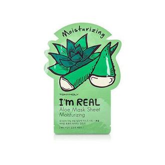 Tony Moly, Тканевая маска для лица I'm Real Aloe Mask Sheet Nutrition