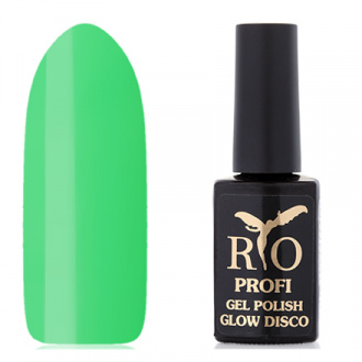 Rio Profi, Гель-лак «Glow Disco» №3, Fabric