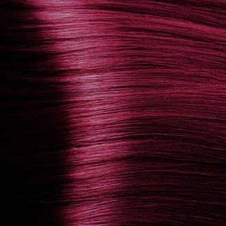 Kapous, Крем-краска для волос Hyaluronic, амарантовый