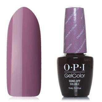 OPI GelColor, Гель-лак Iceland GCI62, One Heckla of a Color!