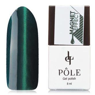 POLE, Гель-лак №1, Бирюзово-зеленый