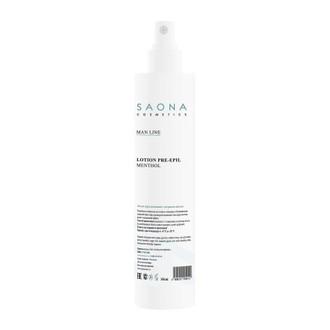 Saona Cosmetics, Лосьон очищающий с ментолом, 350 мл (УЦЕНКА)