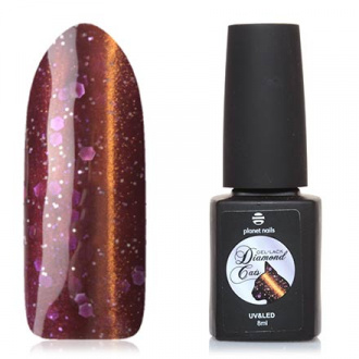 Гель-лак Planet Nails Diamond cats №763