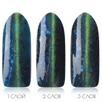 Гель-лак Planet Nails Diamond cats №764