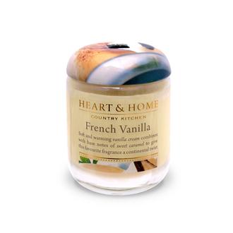 Heart&Home, Свеча «Французская ваниль», маленькая, 110 г