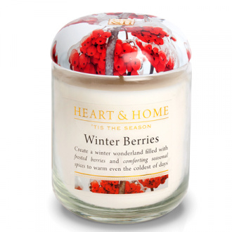 Heart&Home, Свеча «Зимние ягоды», большая, 310 г