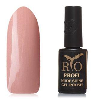 Rio Profi, Гель-лак Nude Shine №10, Кофейный блюз