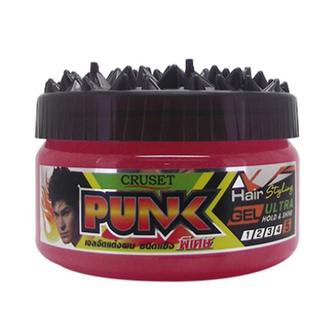 Cruset, Гель для укладки волос «Панк», для женщин, 250 мл