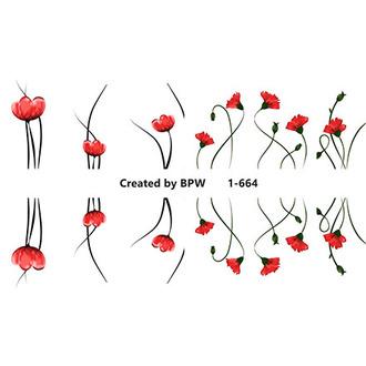 BPW.Style, Слайдер-дизайн «Цветы» №1-664