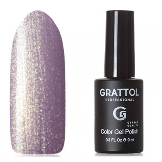 Гель-лак Grattol Classic Collection №157, Lilac Golden pearl