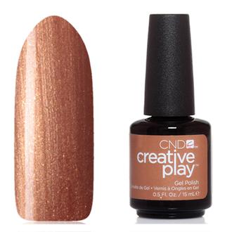 CND, Creative Play Gel №509, Bronze burst