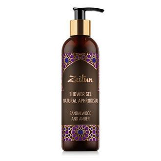 Zeitun, Гель для душа «Сандал и амбра» с натуральными афродизиаками, 250 мл