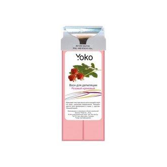 Yoko, Воск в картридже «Розовый кремовый», 100 г