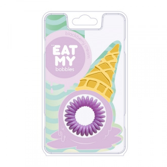 EAT MY bobbles, Резинка для волос «Сливочная ежевика», 3 шт.