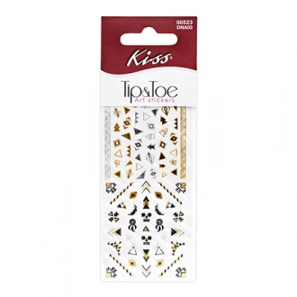 Kiss, Набор стикеров для ногтей Pink