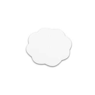 TNL, Коврик для дизайна ногтей «Цветок», белый