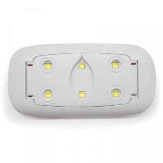 Solomeya, Лампа UV/LED mini Sun, 6W, розовая