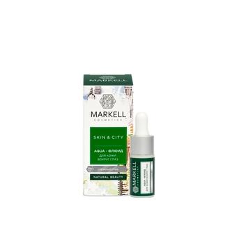 Markell, Aqua-маска для лица Skin&City «Снежный гриб», 10 мл
