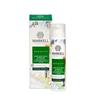 Markell, Дневной крем для жирной и комбинированной кожи Skin&City «Снежный гриб», 50 мл