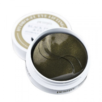 Petitfee, Патчи для глаз Black Perl&Gold, 60 шт.