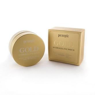 Petitfee, Патчи для глаз Gold, 60 шт.