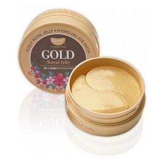Koelf, Патчи для глаз «Золото и пчелиное маточное молочко», 60 шт.