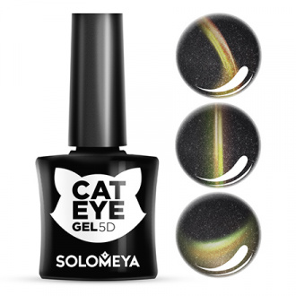 Гель-лак Solomeya Cat Eye 5D, Maine Coon