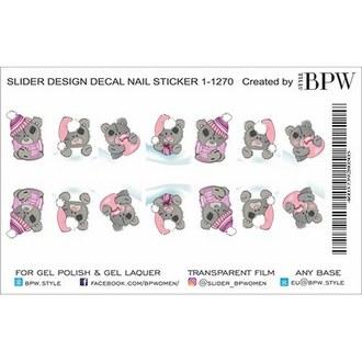 BPW.Style, Слайдер-дизайн «Мишки Тедди» №1-1270w