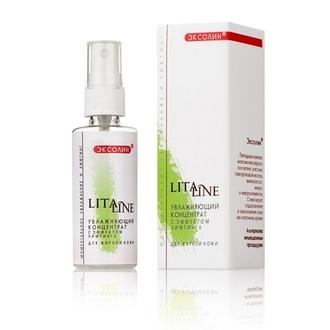 LitaLine, Увлажняющий концентрат для жирной кожи, 200 мл