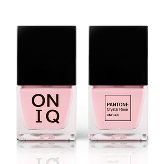 ONIQ, Лак для ногтей Pantone, Crystal Rose