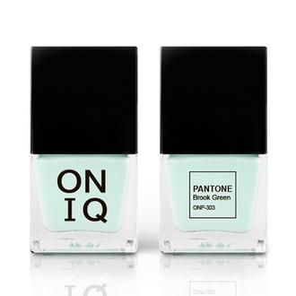 ONIQ, Лак для ногтей Pantone, Brook Green