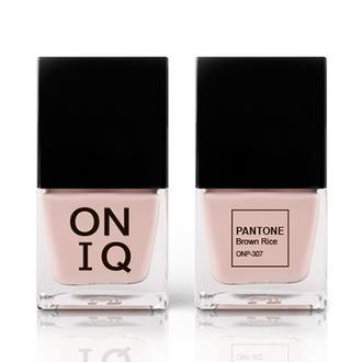 ONIQ, Лак для ногтей Pantone, Brown Rice