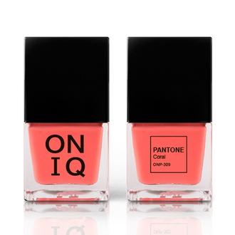 ONIQ, Лак для ногтей Pantone, Coral