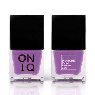 ONIQ, Лак для ногтей Pantone, English Lavender